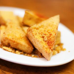 S13. Deep-Fried Tofu with Garlic Sauce