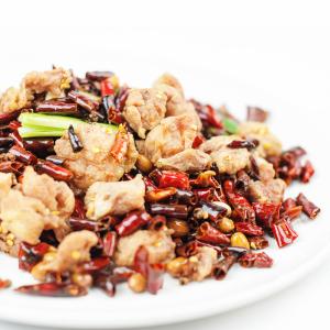 S16. Sichuan Chili Chicken