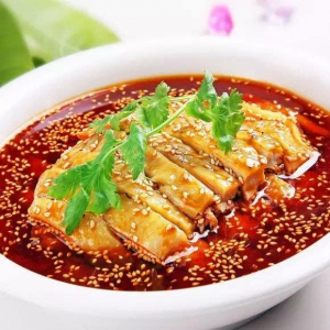S17. Steamed Chicken with Chilli Sauce