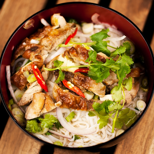 R13. Chicken Soup with Rice Noodle Broth